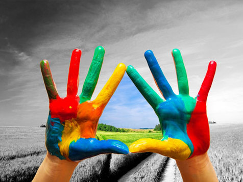 با رنگ درمانی، روان تان را شاد کنید