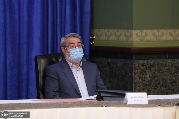 وزیر کشور: ممنوعیت تجمعات و ترددها بدون رودربایستی اجرا شود