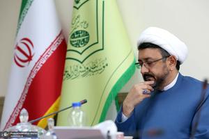 مراسم معارفه معاون اداری و مالی موسسه تنظیم و نشر آثار امام خمینی(س)