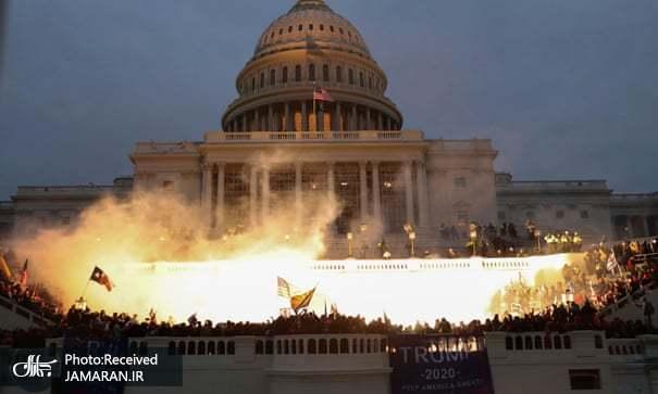 شورش ترامپی ها و چپاول دموکراسی آمریکا!/اتحاد جهان علیه ترامپ+تصاویر