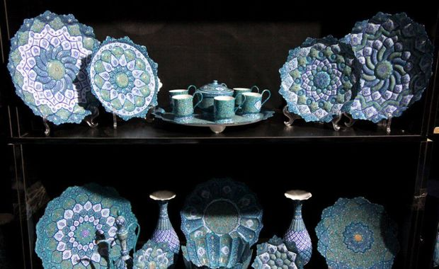 بسیاری از تولیدات صنایع دستی اصفهان، استاندارد است