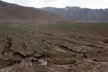 فرسایش سالانه 32 میلیون تن خاک در چهارمحال و بختیاری