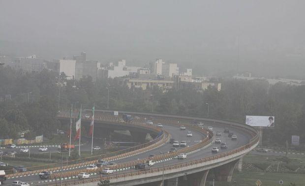 هوای کلانشهر مشهد برای سومین روز متوالیآلوده است