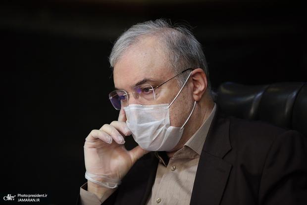 وزیر بهداشت: رئیسجمهور به خاطر فشار ما در مراسم بازگشایی دانشگاهها حضور نیافت