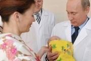 هدیه پوتین به نوزادان متولد شده در سال جدید