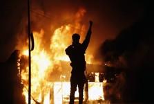 کشته شدن یک افسر امنیت داخلی آمریکا در جریان اعتراض های گسترده