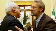 تقدیر ظریف از زحمات لاریجانی به عنوان رییس سه دوره مجلس