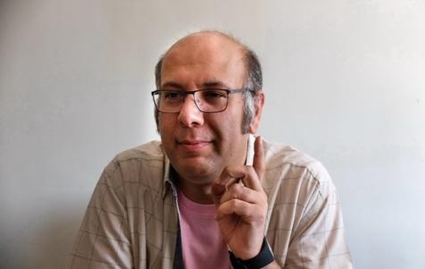 محمد بحرانی مقابل دوربین «گلشیفته» رفت