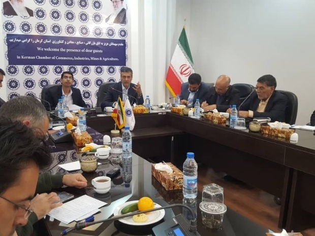 رئیس اتاق کرمان: رونق تولید به نهضتی فراگیر تبدیل شود