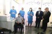 سعید خال در مراسم آغاز واکسیناسیون کرونا کارکنان سازمان بهشت زهرا(س): سال پر درد و رنجی را سپری کردیم