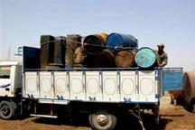30 هزار لیتر نفت خام قاچاق در هویزه کشف شد