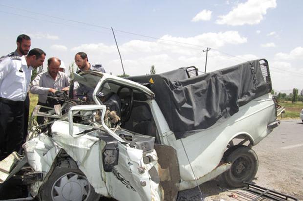 حادثه رانندگی در جاده محلات به دلیجان یک کشته داشت