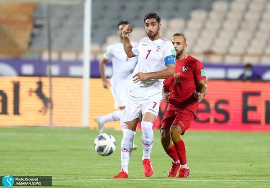علیرضا جهانبخش ایران سوریه مقدماتی جام جهانی 2022