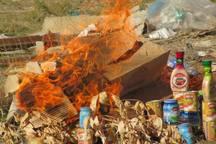 بیش از 1800 کیلوگرم مواد غذایی فاسد در رفسنجان و انار معدوم شد