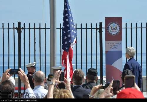 بازگشایی سفارت آمریکا در کوبا+ تصاویر