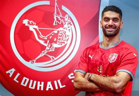 باشگاه القطر از علی کریمی قدردانی کرد+عکس