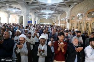 اقامه نماز عید سعید فطر در  قم