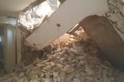 ساختمانی در شمال تهران فرو ریخت