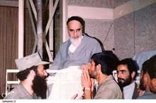 دیدار پاسداران انقلاب اسلامی با حضرت امام (س)