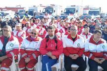 رزمایش زمستانی نیروهای امدادی و خدماتی تهران بزرگ آغاز شد