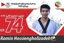 تکواندوکار البرزی در مسابقات جهانی یونیورسیاد مدال نقره کسب کرد
