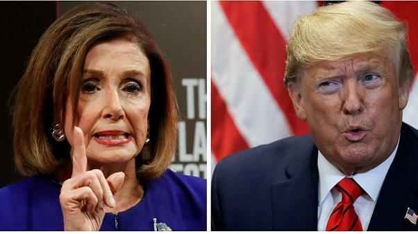 نانسی پلوسی دستور به جریان انداختن استیضاح ترامپ را صادر کرد
