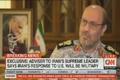 سردار دهقان در مصاحبه با CNN : پاسخ ایران نظامی خواهد بود