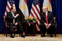 عکس/ تظاهرات علیه رئیس جمهور مصر در حاشیه مجمع عمومی