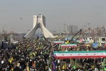 مسیرهای راهپیمایی 22 بهمن در پایتخت