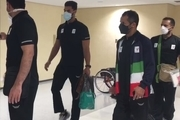 اولین کاروان پارالمپیکی ایران به توکیو رسید