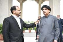 وزیر کشور پاکستان: ایران و پاکستان، یک روح در دو کالبد هستند