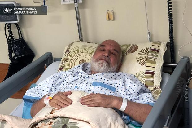 مهدی کروبی مجددا در بیمارستان بستری شد + عکس اختصاصی از وی در بیمارستان
