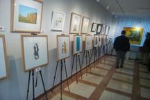 نمایشگاه خیریه کاریکاتور نقش مهربانی در تهران گشایش یافت