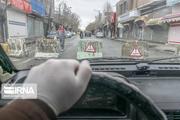ورودی های ساوه از طرف آوه و آزادراه همدان مسدود می شود