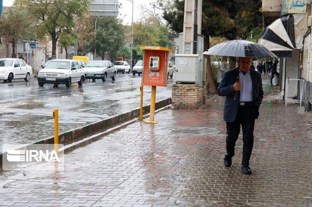 بارش باران و برف کردستان را فرا میگیرد