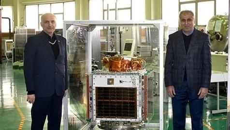 تحویل ماهواره پارس ۱ به سازمان فضایی ایران
