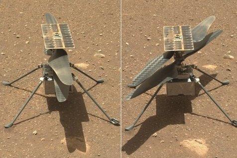 پرواز هلیکوپتر مریخی به تعویق افتاد