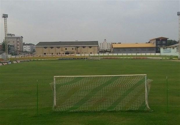 ورزشگاه هفت تیر بابل برای میزبانی مسابقه فوتبال آماده شد