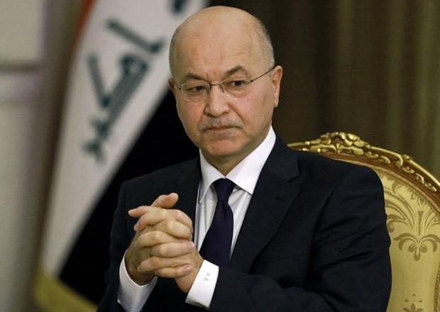 رییس جمهوری عراق امیدوار به از سرگیری روابط ایران و عربستان