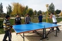 پایان مسابقات تنیس روی میز در قزوین