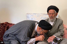 تصاویری از مرحوم آیت الله سید رضی علوی(ره) پدر وزیر اطلاعات