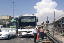 تصادف در کمربندی لاهیجان یک کشته برجای گذاشت