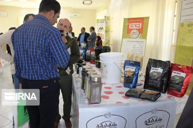 اولین نمایشگاه کودهای ارگانیک در ایلام برگزار شد