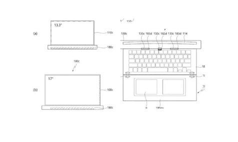 اختراع لپ تاپ لوله شونده از سوی ال جی