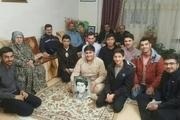 دانش آموزان البرز به دیدارمادران شهدا رفتند