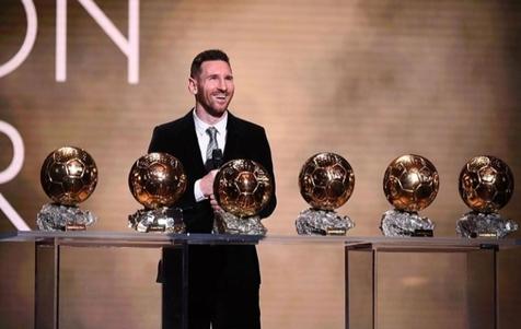 رکورد تاریخی مسی؛ 6 توپ طلا و 6 کفش طلا