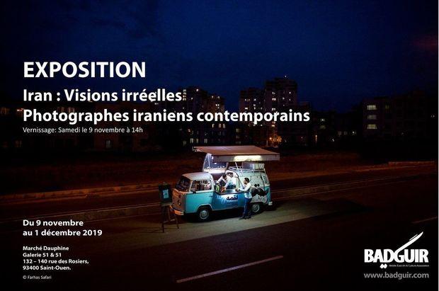 پاریس میزبان عکس های عکاس قزوینی