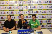 مقابل استقلال خوزستان موقعیت ها را از دست دادیم