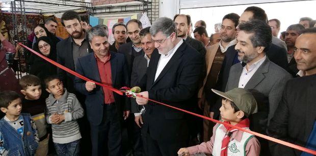 چهارمین نمایشگاه سراسری صنایع دستی در بیرجند گشایش یافت