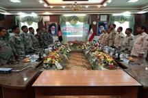 دیدار دو مرزبان درجه یک ایران و افغانستان در تایباد